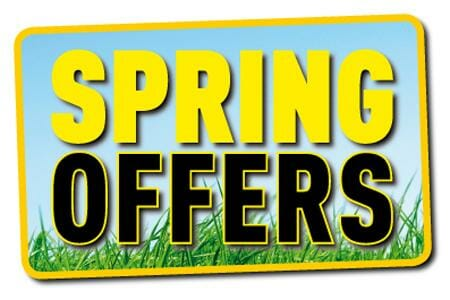 Spring promotions on online marketing tools