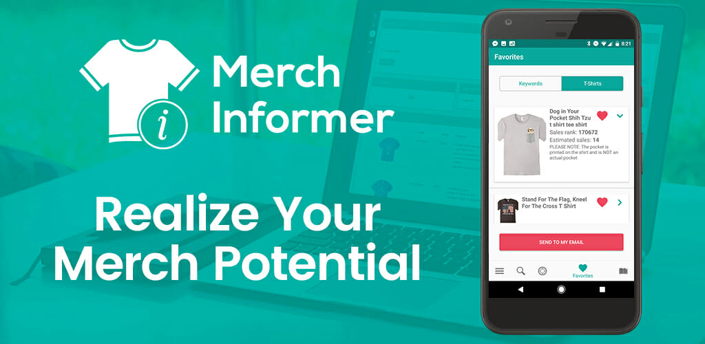 Merch by Amazon Merch Informer Review and Coupon Code