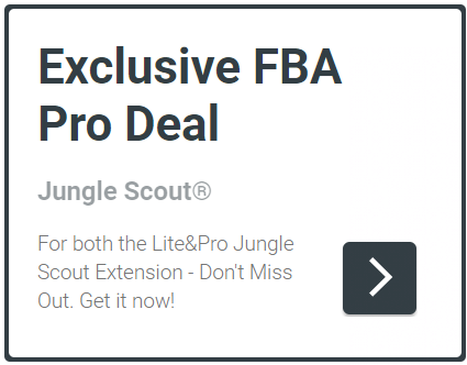 Jungle Scout Discount - Special Deal for Lite & Pro Extensions