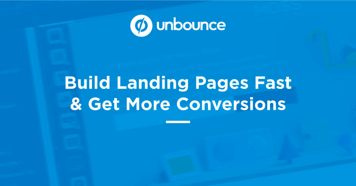 Unbounce review trial discount