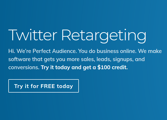Twitter Advertising credit