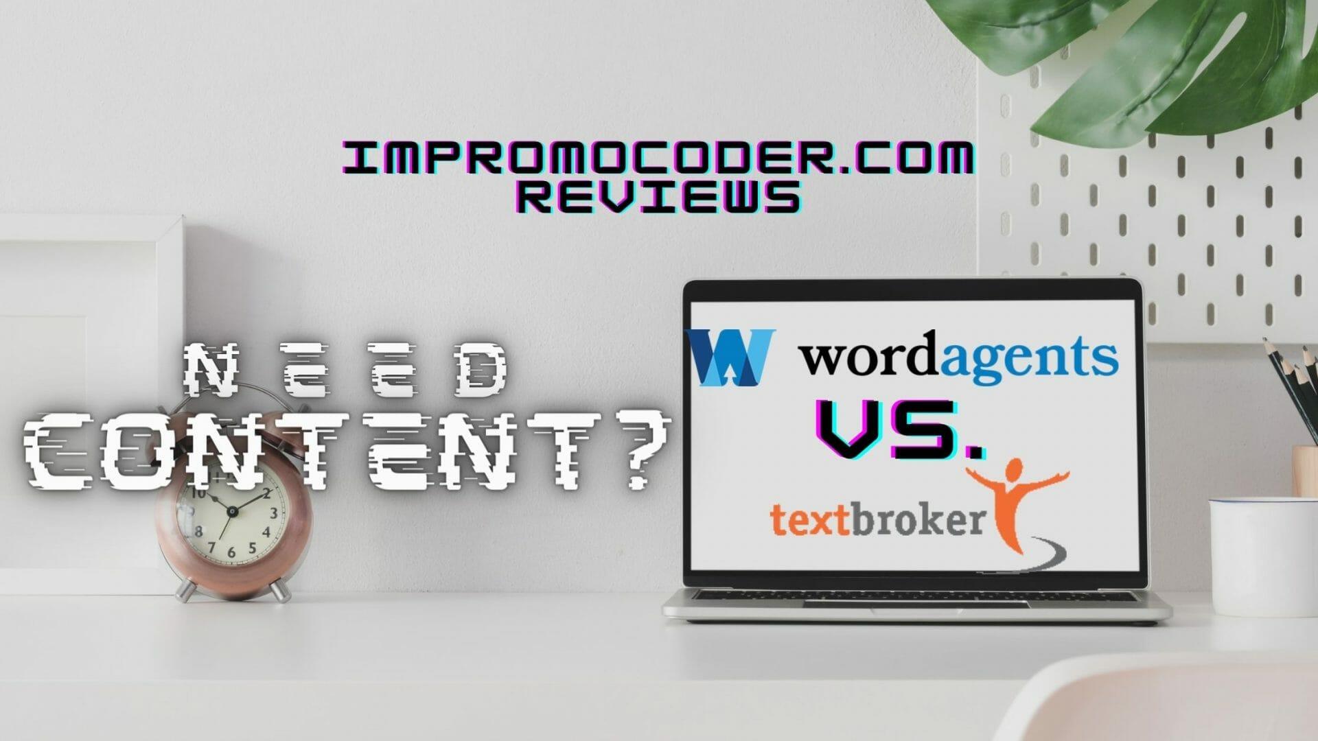 WordAgents vs Textbroker